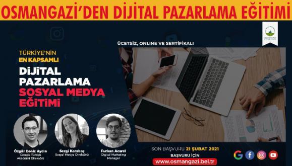 Osmangazi'den Dijitâl Pazarlama Eğitimi