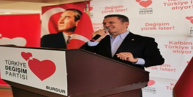 Mustafa Sarıgül Burdur İktidara Hazırlık Merkezini Açtı
