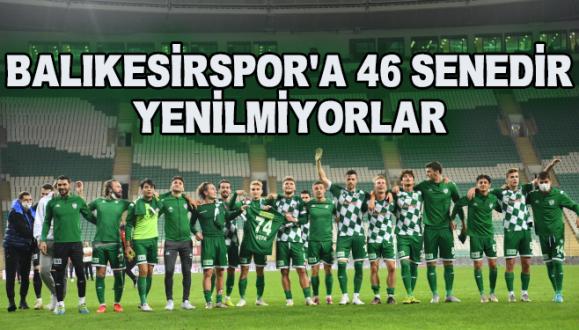 Bursaspor  Balıkesirspor'a 46 Senedir Yenilmiyor