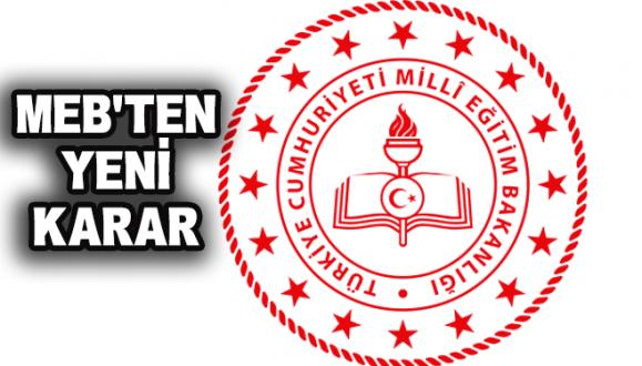 MEB'ten Yüz Yüze Eğitim İle İlgili Yeni Karar!