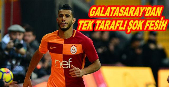 Galatasaray Belhanda'nın Sözleşmesini Tek Taraflı Feshetti