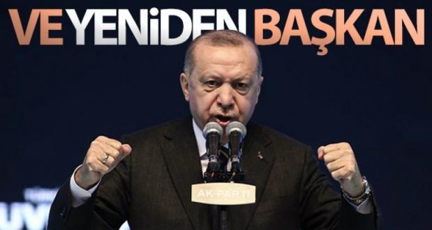 Cumhurbaşkanı Recep Tayyip Erdoğan Yeniden AK Parti Genel Başkanı Seçildi