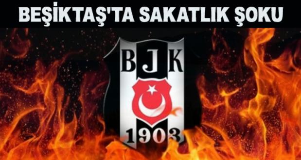 Beşiktaş'ın Yıldız Futbolcusundan Kötü Haber!