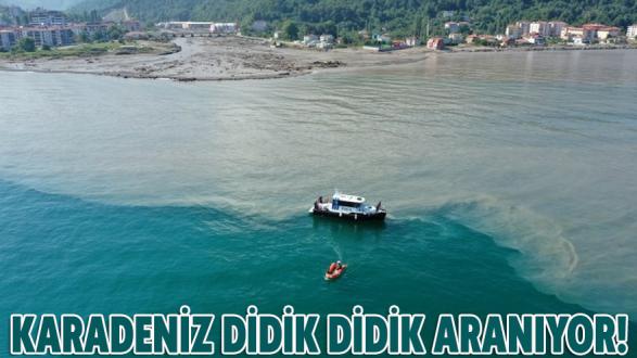 Karadeniz didik didik aranıyor!