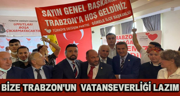 Volkan Aslanbaş: Trabzon Sadece Karedeniz'in Değil Vatan ve Bayrak Sevgisinin Başkentidir