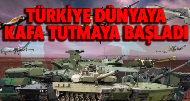 Türkiye Dünyaya Kafa Tutmaya Başladı!